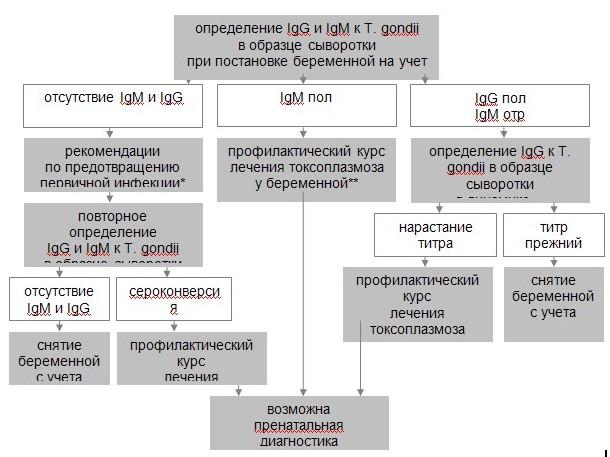 Алгоритм серологического