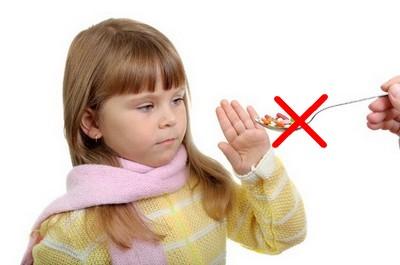 Антибиотики детям при вурусных заболеваниях