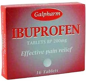 упаковка Ибуфен