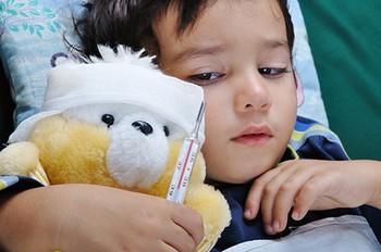 Температура у детей при вирусном заболевании
