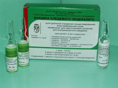 Вакцина от клещевого энцефалита